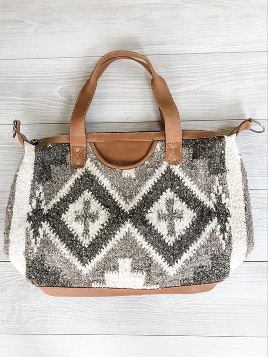 Chrisel Guatemalan Convertible Wool Bag - 10502