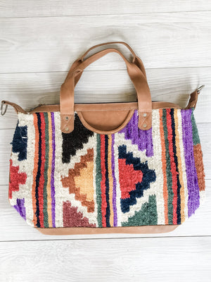 Chrisel Guatemalan Convertible Wool Bag - 10503