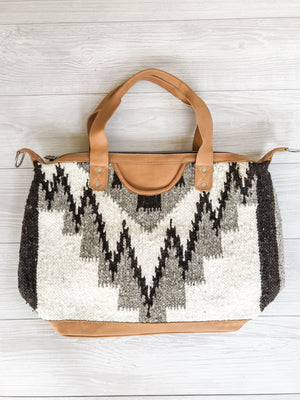 Chrisel Guatemalan Convertible Wool Bag - 10508