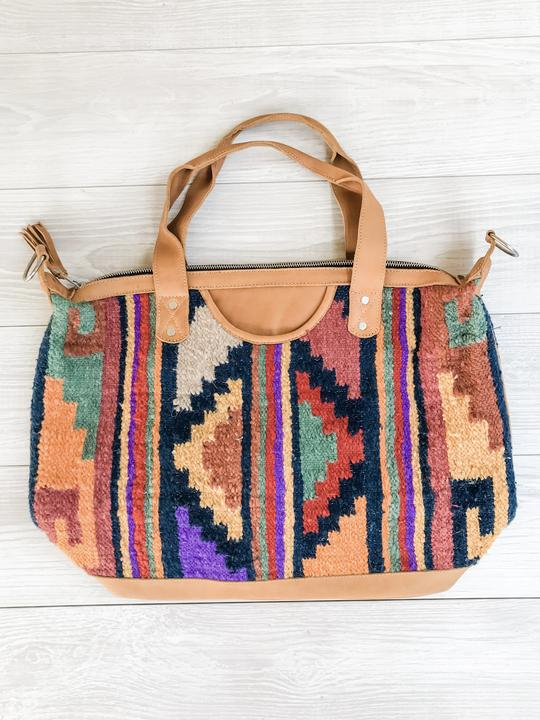 Chrisel Guatemalan Convertible Wool Bag - 10507