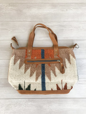 Chrisel Guatemalan Convertible Wool Bag - 10506