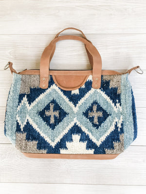 Chrisel Guatemalan Convertible Wool Bag - 10505