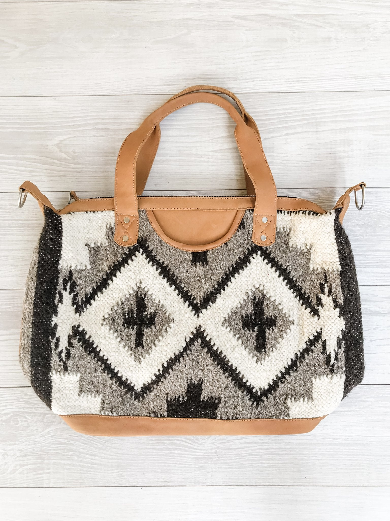 Chrisel Guatemalan Convertible Wool Bag - 10504