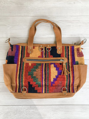 Kisa Guatemalan Convertible Wool Bag - 10203