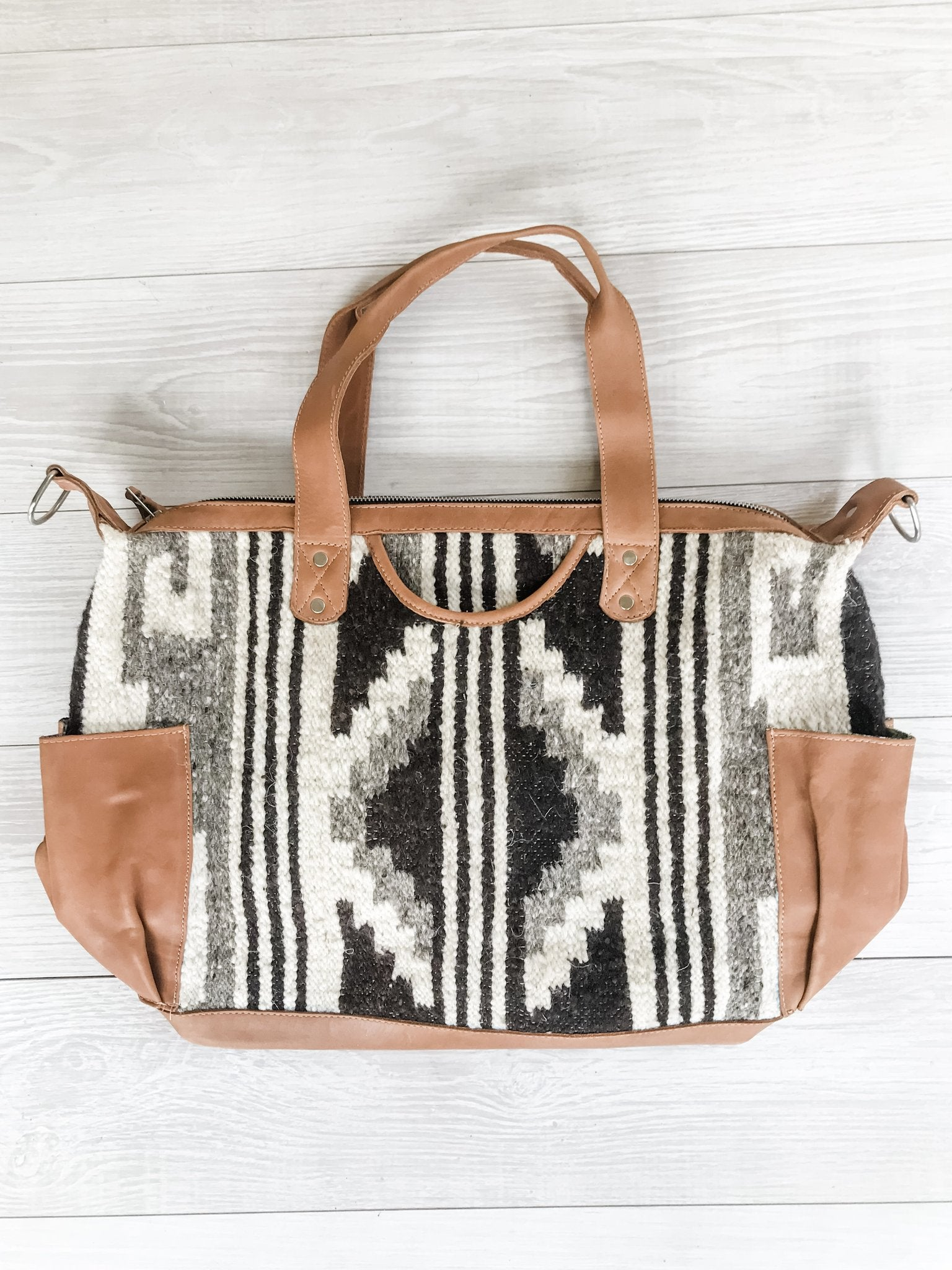 Kisa Guatemalan Convertible Wool Bag - 10202