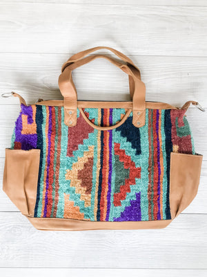 Kisa Guatemalan Convertible Wool Bag - 10201