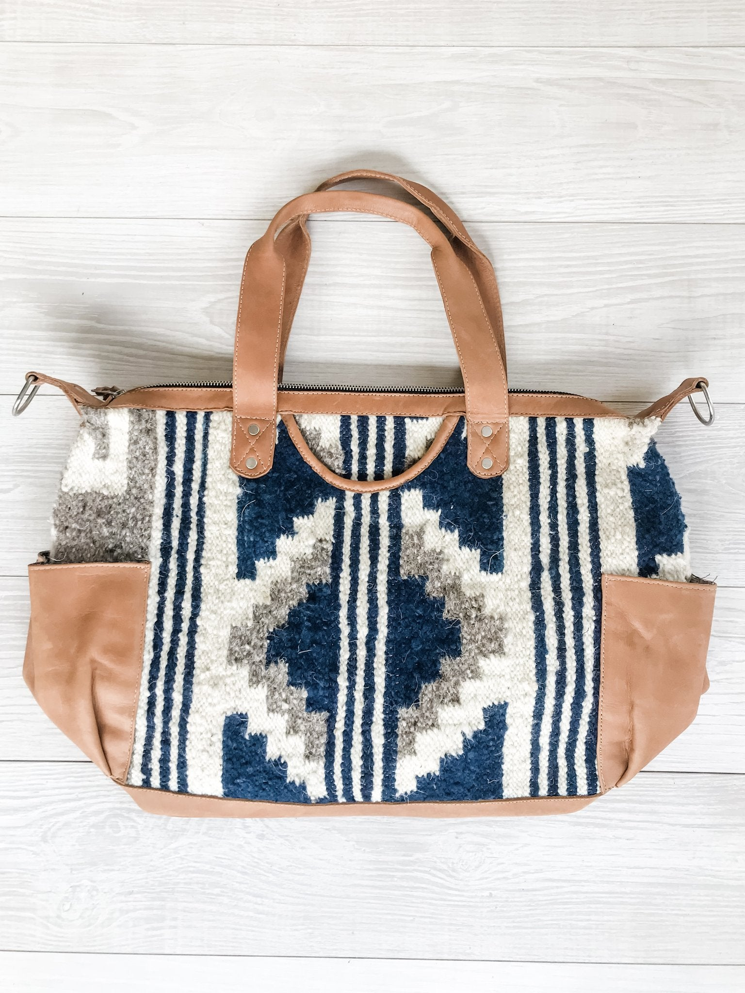 Kisa Guatemalan Convertible Wool Bag - 10204