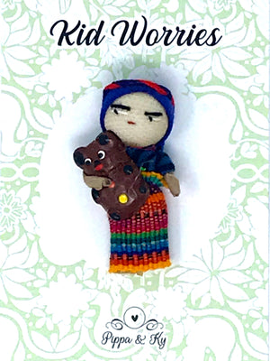 "Guatemalan ""Kid Worries"" Worry Doll"