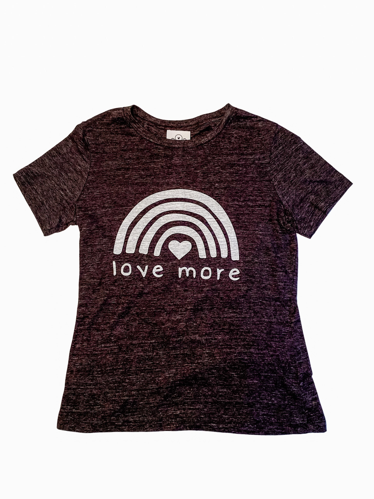 Love More Charcoal Grey T-Shirt