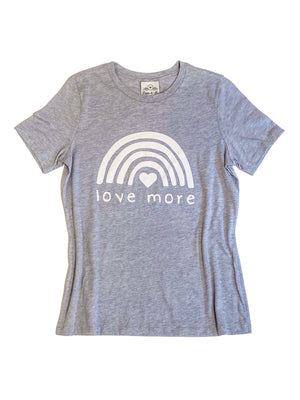 Love More Dusty Blue T-Shirt
