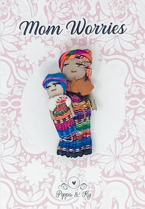 "Guatemalan ""Mom Worries"" Worry Doll"
