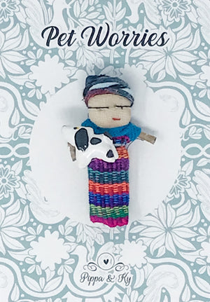 "Guatemalan ""Pet Worries"" Worry Doll"