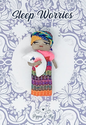 "Guatemalan  ""Sleep Worries""  Worry Doll"