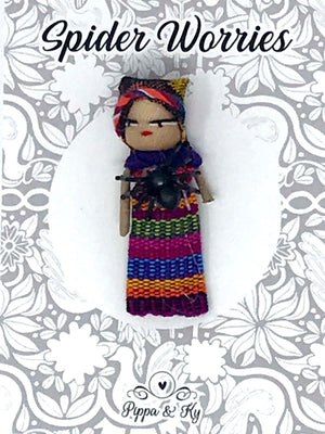 "Guatemalan ""Spider Worries"" Worry Doll"
