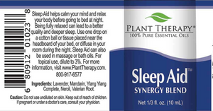 Sleep Aid Synergy Essential Oil - Essential Oil