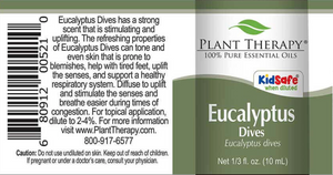Eucalyptus Dives Essential Oil