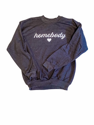 Kids Homebody Charcoal Sweatshirt