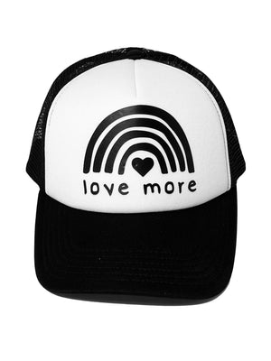 Love More Trucker Hat
