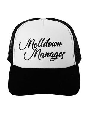 Trucker Hat Meltdown Manager