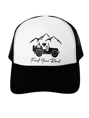 Trucker Hat Find Your Road