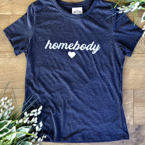 Loungewear T-Shirt Homebody Heather Navy