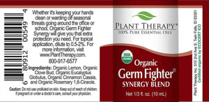 Germ Fighter Synergy Organic Essential Oil - Essential Oil