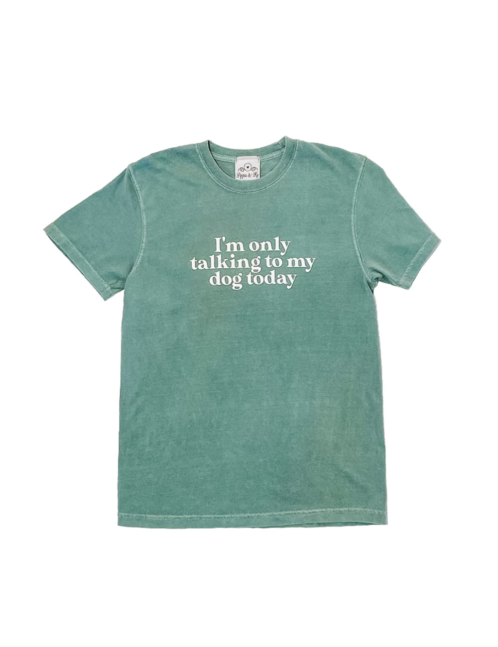 Only Talking To My Dog T-Shirt