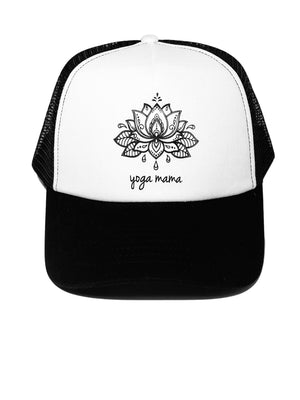 Trucker Hat Yoga Mama