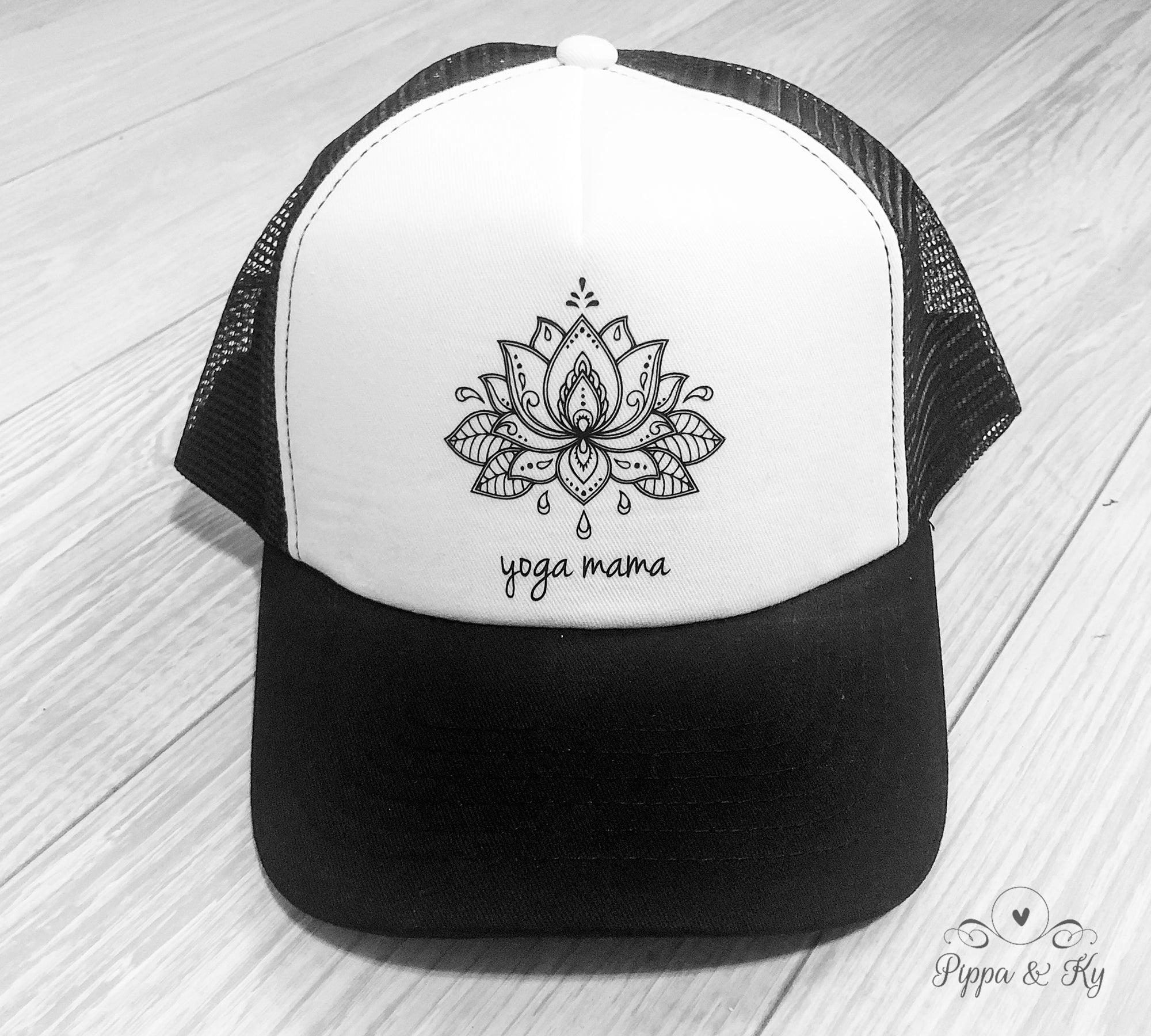 Yoga Mama Trucker Hat