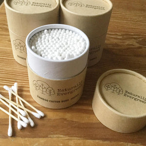 Cotton Buds Naturally Evergreen
