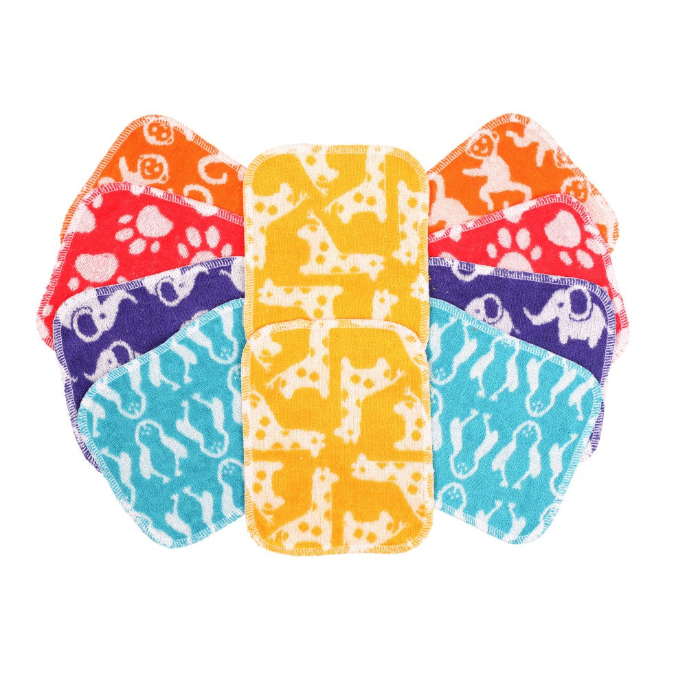 Tots Bots Reusable Wipes (10 Pack)