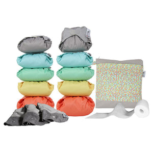 Close Pop In Middle Box 2020 Collection Nappy Kit - Brights/Pastel