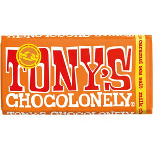 Milk Caramel Sea Salt Tony's Chocolonely 180g