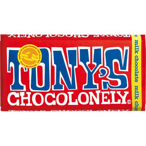 Milk Chocolate Tony's Chocolonely 180g
