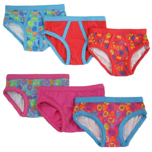 Bright Bots Pants 6pk - Various Designs