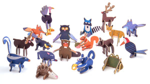 PLAYin Choc Toy Choc Box - Woodland Animals