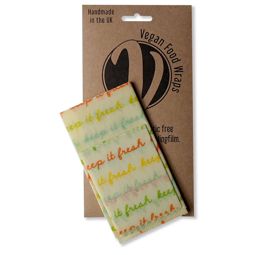 Vegan Wax Wrap Small Kitchen Pack