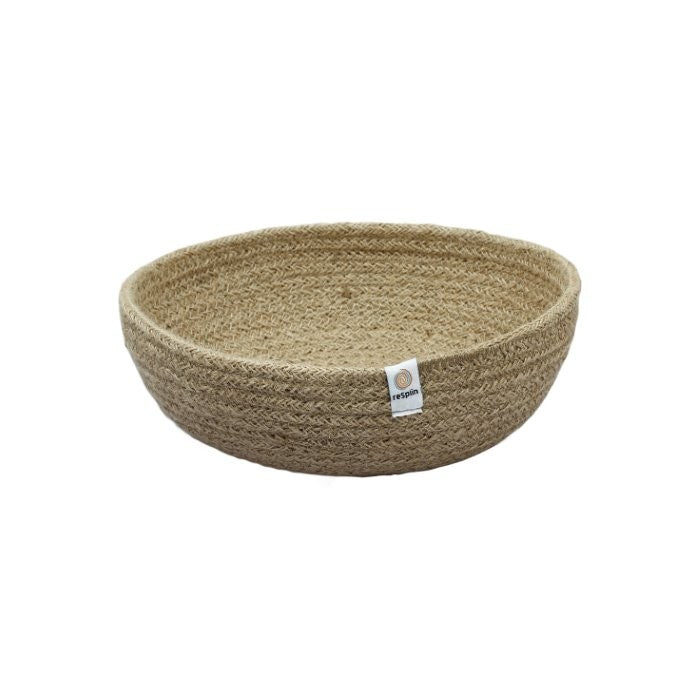 ReSpiin Medium Jute Bowl