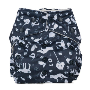 Baba + Boo One Size Pocket Nappy - The Cosy Collection