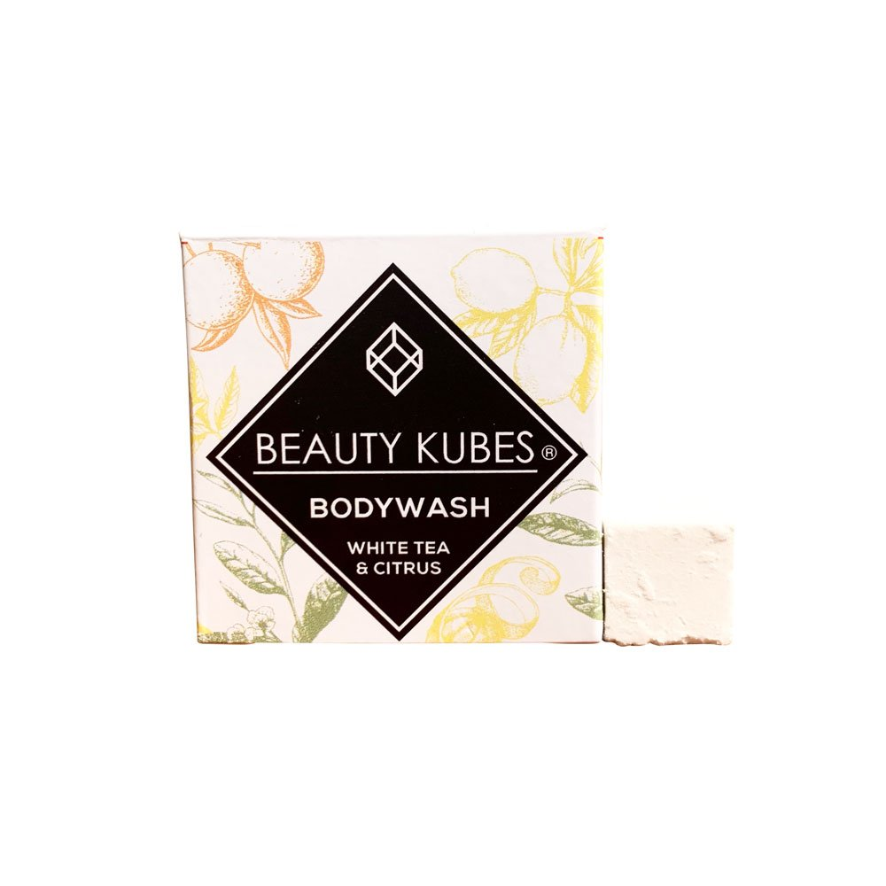 Beauty Kubes Body Wash with White Tea & Citrus