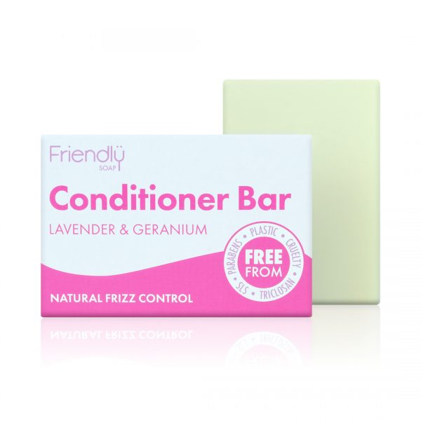 Friendly Soap Lavender & Geranium Conditioner Bar