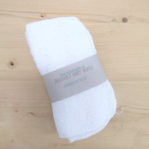 Sew Sustainable Towelling Wipes 10pk