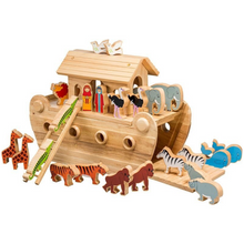 Load image into Gallery viewer, Lanka Kade Deluxe Noah's Ark & 24 Colourful Characters