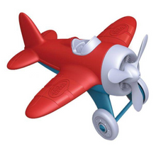 Load image into Gallery viewer, Green Toys Airplane - Red