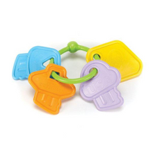 Load image into Gallery viewer, Green Toys My First Rattle Keys