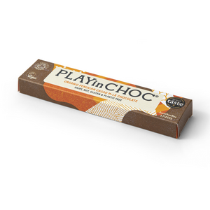 PLAYin Choc 3 PiECES Organic Peruvian Cacao M•lk Chocolate