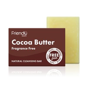 Friendly Soap Fragrance Free Cocoa Butter Bar