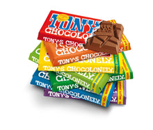 Load image into Gallery viewer, White Raspberry Popping Candy Tony's Chocolonely 180g