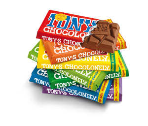 White Raspberry Popping Candy Tony's Chocolonely 180g
