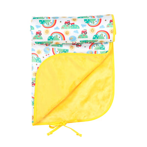 Tots Bots Frugi Happy Mat - Happy Days